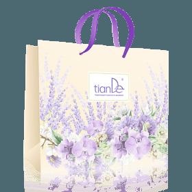Papírová dárková taška TianDe s orchidejí