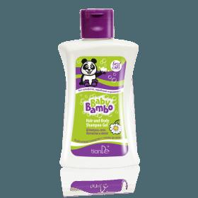 Šampon-gel na tělo a vlasy Baby Bambo