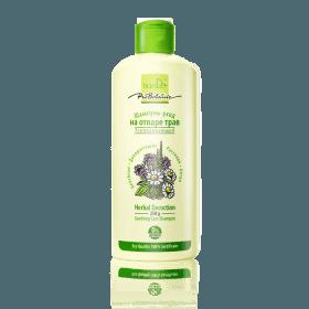 Zklidňující pečující šampon z bylinného odvaru
