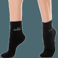 Ponožky s bodovou aplikací turmalínu - vel. 26