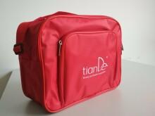 Značková taška TianDe (červená barva)