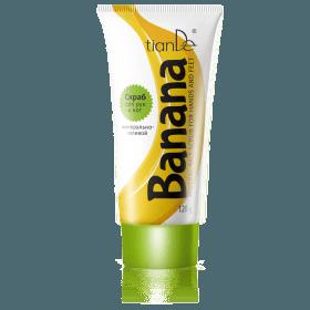Peeling s minerální solí na ruce a nohy Banán