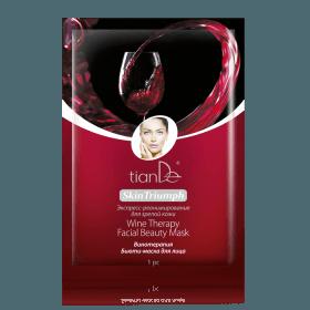 Pleťová maska Vinná terapie