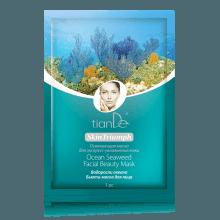 Pleťová-maska s mořskými řasami