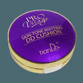 DD tonální matující pudr Cushion tónovací krém