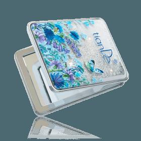 Kapesní kosmetické zrcátko TianDe s motýly