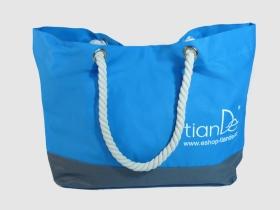 TianDe Plážová taška modrá