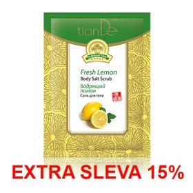 Tělová sůl Svěží citron
