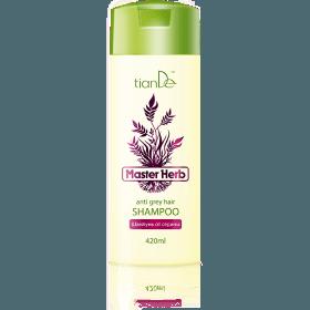 Šampon proti šedivým vlasům