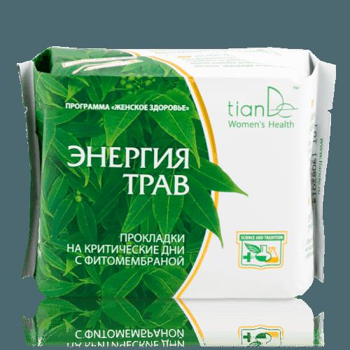 Denní menstruační vložky Energie bylin