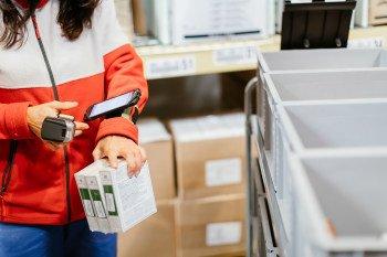 Pickování produktů TianDe v Geisu