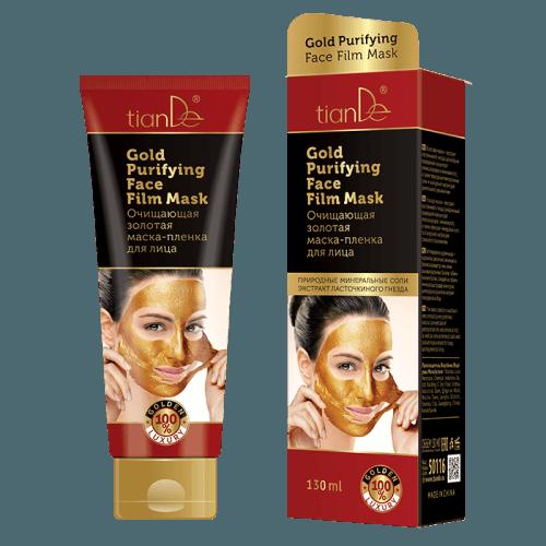 Čistící zlatá slupovací maska